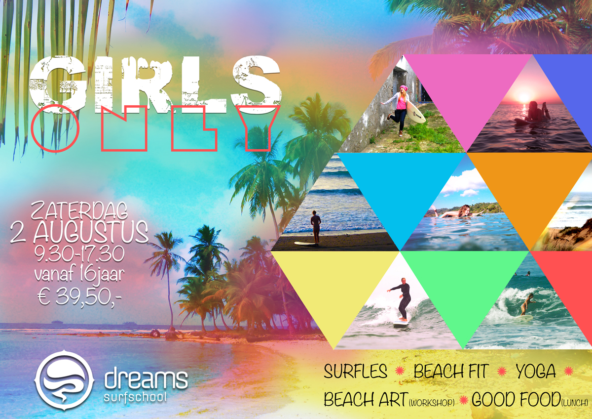 Dreams Surfschool Girls Only Surf Event 02082014