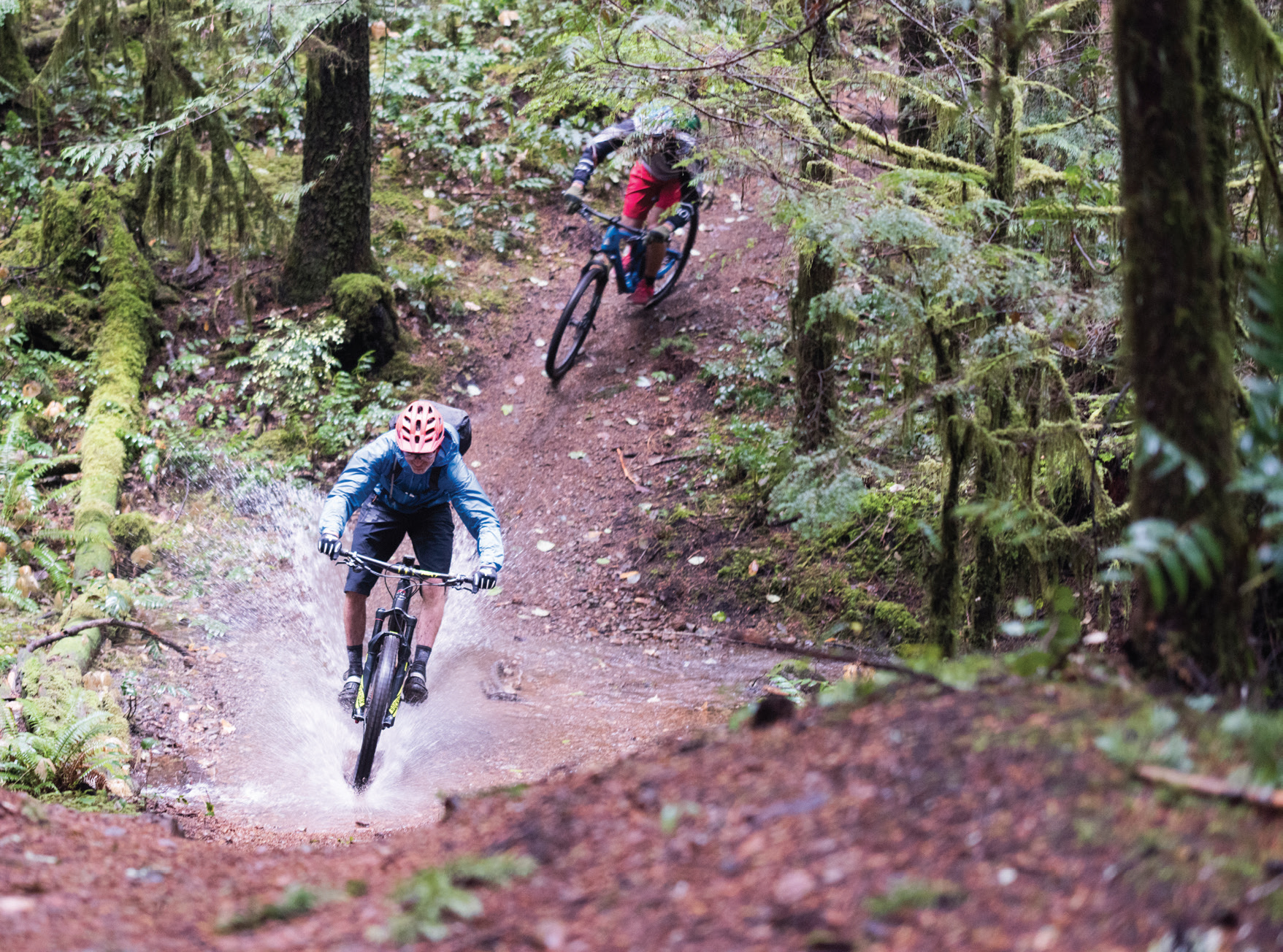 mountainbike Tofino